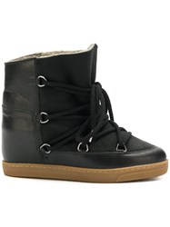 Isabel Marant Nowles Snow Boots Black