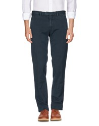 Santaniello And B. Casual Pants Dark Blue