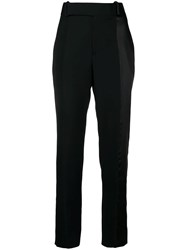 Haider Ackermann High Waist Tailored Trousers Black