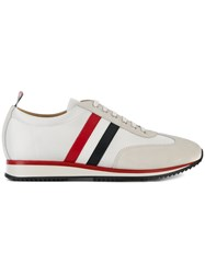 Thom Browne Running Shoe With Red White