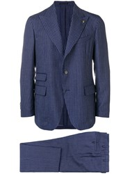 Gabriele Pasini Two Piece Formal Suit Blue