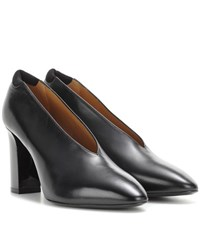 Acne Studios Aja Leather Pumps Black