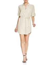 Prive Safari Shirt Dress Oxford Tan