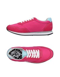 U.S. Polo Assn. U.S.Polo Footwear Low Tops And Sneakers Fuchsia