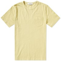 Ymc Wild Ones Slub Pocket Tee Yellow