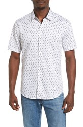 7 Diamonds Men's Last Text Woven Shirt