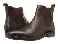 Nunn Bush Hampton Plain Toe Double Gore Slip On Boot Brown Men's Shoes