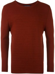 Natural Selection Crew Neck Jumper Red