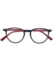 Lacoste Round Frame Glasses Blue