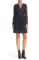 The Kooples Women's Mixed Lace Dress