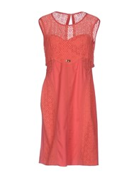 Sonia Fortuna Short Dresses Coral