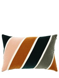 Christina Lundsteen Phoebe Cotton Velvet Pillow Multicolor