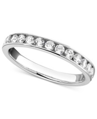 Macy's Certified Diamond Band Ring In 14K White Gold 3 4 Ct. T.W.