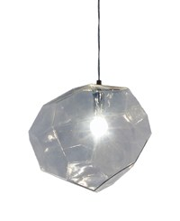 Innermost Asteroid Glass Pendant Clear Transparent
