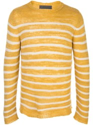The Elder Statesman Picasso Cashmere Striped Jumper 60