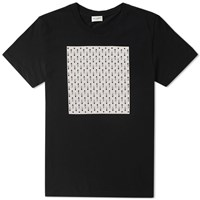Saint Laurent Playing Cards Tee Black