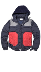 Shades Of Grey By Micah Cohen Colorblock Down Jacket East Dane