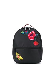 Puma Embroidery Detail Backpack Black