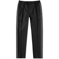 Versace Taped Down Track Pant Black