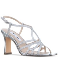 Nina Amabel Evening Sandals Women's Shoes Silver