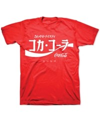 Freeze 24 7 Coca Cola Japanese Graphic T Shirt Red