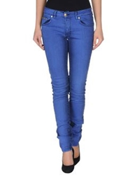 Gianfranco Ferre Gf Ferre' Denim Pants Pastel Blue