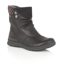 Lotus Relife Ruka Ankle Boots Black