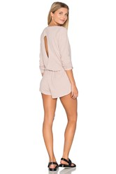 Alo Yoga Rally Romper Light Gray