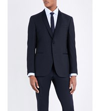 Corneliani Textured Wool Jacket Navy