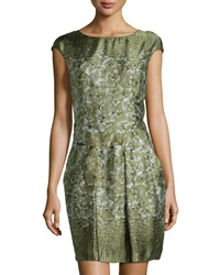 Philosophy Di Alberta Ferretti Floral Print Dress Moss Multi