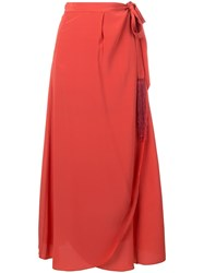 Forte Forte 'My Skirt' A Line Red