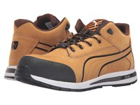Puma Safety Dash Mid Eh Tan Men's Work Boots