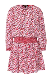 Juicy Couture Silk Printed Sugar Tulips Dress