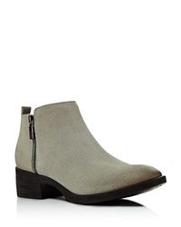 Kenneth Cole Levon Low Heel Booties Cappuccino
