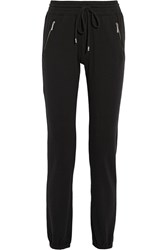 Michael Michael Kors Brushed Jersey Track Pants Black