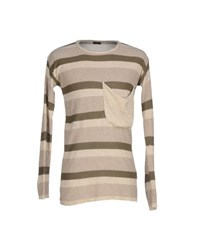 Imperial Star Imperial Knitwear Jumpers Men Military Green