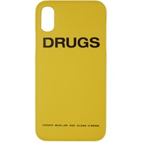 Raf Simons Yellow 'Drugs' Iphone X Case