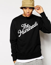 The Hundreds Forever Slant Sweatshirt Black