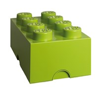 Lego Storage Box 8 Lime Green