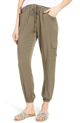 Rd Style Women's Cargo Jogger Pants Moss