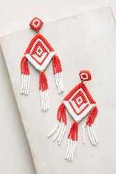 Anthropologie Halona Beaded Drop Earrings Assorted
