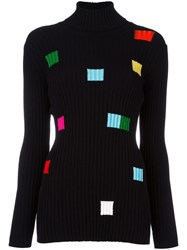 Iceberg Ribbed Jumper Black