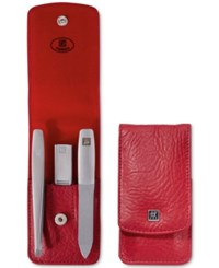 Zwilling 3 Pc. Red Series Manicure Set