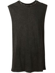 Neuw Round Neck Tank Top Black
