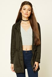 Forever 21 Hooded Windbreaker
