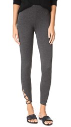 Riller And Fount Merle Leggings With Ankle Detail Stud French Terry