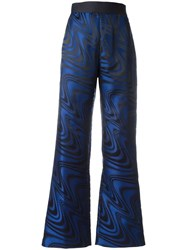 Opening Ceremony Printed Palazzo Pants Blue