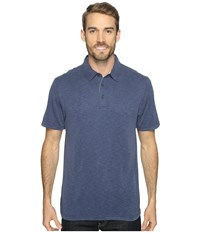 Royal Robbins Great Basin Polo Collins Blue Men's T Shirt