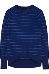 Line Gwen Striped Cashmere Sweater Blue