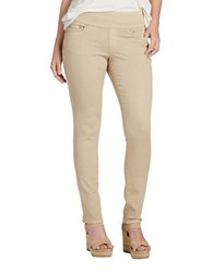 Jag Nora Knit Denim Pants Beige
